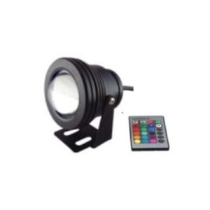 Size:?75*H190mm Finishing Color:Black/Sliver 24# RGB with controller IP Grade:IP65 without spike Wire:0.3M DC12V
