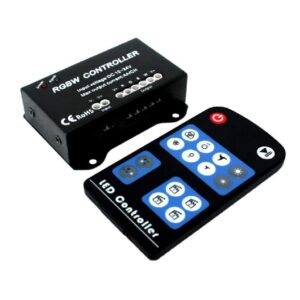 4 Channel RGBW 12~24VDC romote controller