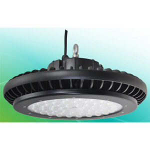 UFO LED Highbay, 100W, 11000lm, 6000K, 110VAC, US plug included