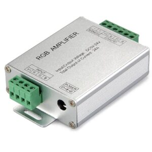 LED Controller Amplifier 8A*3CH, 12-24VDC, DC12/288W, 24V/576W, Series Function
