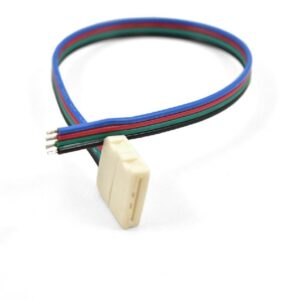 "4 Wires 8"", 1 Connector12mm PC Board"