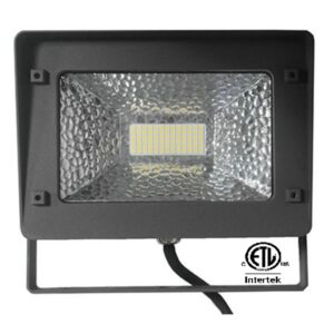 ETL Listed High Power LED Floodlight | 50w | 6000lm | PF >0.93 | CRI >70 | IP65 | Beam 100? | 80,000+ LED Lifetime | IK07 | DLC Listed | 5 year warranty