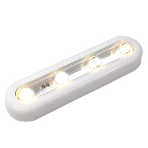 4 LED Touch Light, Warm White LED