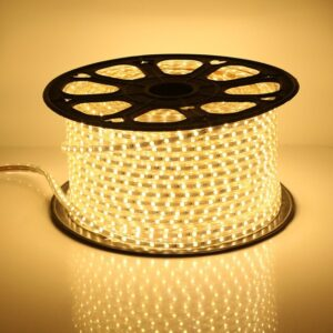 """8mm Lumipro 2835 Series Rope Light, pin width: 8mm, 3000K, 24lm-0.2W/chip, 60 chips/meter, 110~130V input, H6mmxW11mm, cut: every 20"""", IP67, cETLus, 2 yr warranty"""