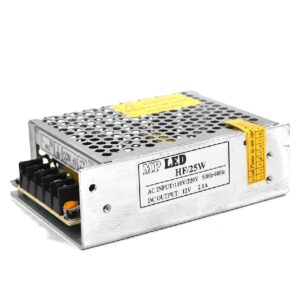 Indoor Power Supply 25W/12VDC, 110/220VAC/60Hz