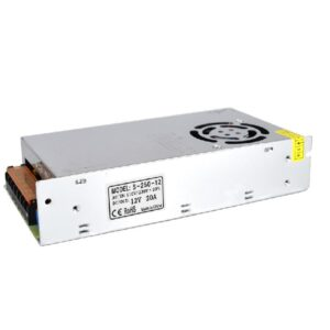Indoor Power Supply 250W/12VDC, 110/220VAC/60Hz