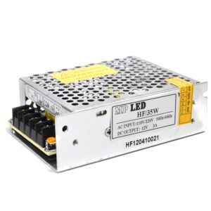 Indoor Power Supply 35W/12VDC, 110/220VAC/60Hz 0.8A