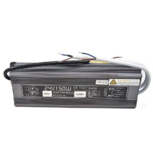Outdoor power supply 110Vac to 24Vdc/150Watts/12.5A