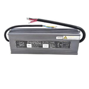 Outdoor power supply 110Vac to 24Vdc/250Watts/10.42A