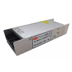 Power-supply12VDC-and-60Watt-and-5Amp,-85~264VAC,-UL-Listed