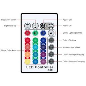 RF Controller for RGB wall washer series