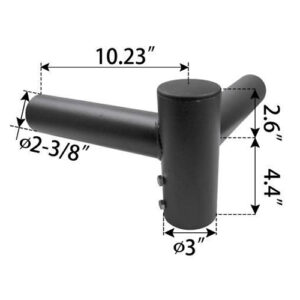 Straight-Horn-Adapter,-fits-3-inch--pole1