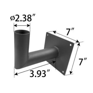 Wall-Mount-Adapter,-creates-2-.38-inch-tenon