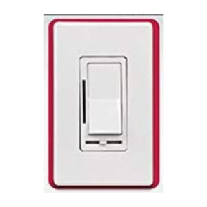 Feit Electric 150W LED/500W incandescent Wall Panel Dimmer w/ On/Off Switch, Slide Dimmer, Dimming Indicator, and Fine Tune Button