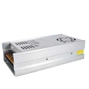 Indoor power supply, Output 500watt/12Vdc/41.66A, Input 110/220Vac