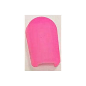 6*12MM silicone end cap pink (package:2000pcs/bag)